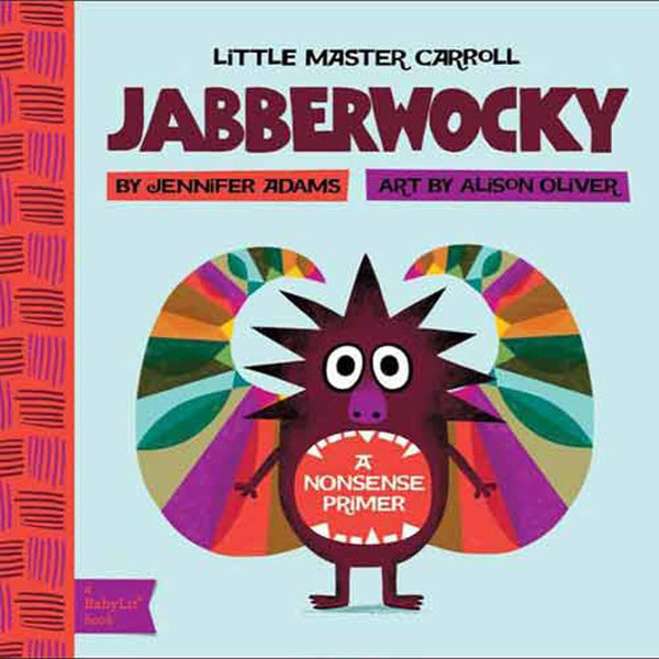 Books Jabberwocky Boardbook - Tiny People shop