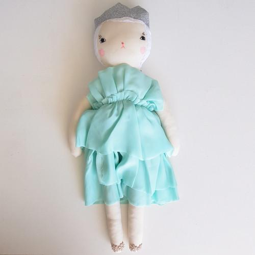Boramiri Nina Cocktail Dress Mint - Tiny People shop