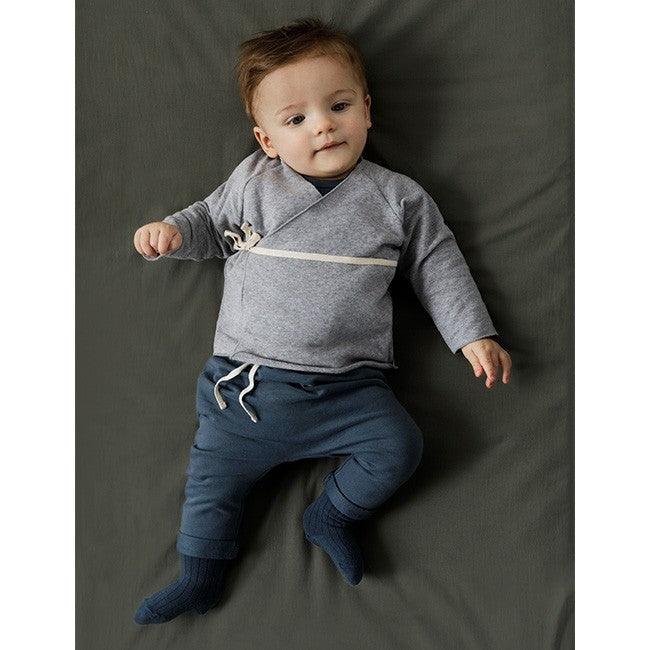 Gray Label Baby Pants (Blue Grey) | Tiny People