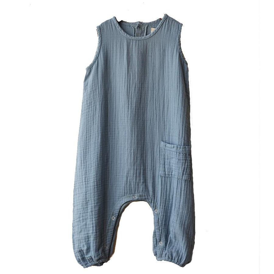 boy+girl Baby Jumper Cerulean - Tiny People Cool Kids Clothes Byron Bay