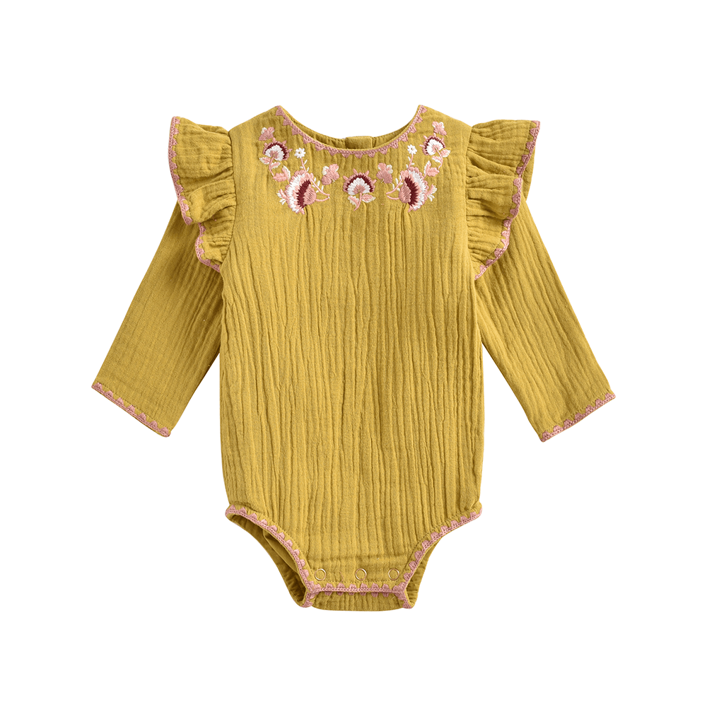 Louise Misha Azu Bodysuit Honey Baby Onesies & Rompers - Tiny People Cool Kids Clothes