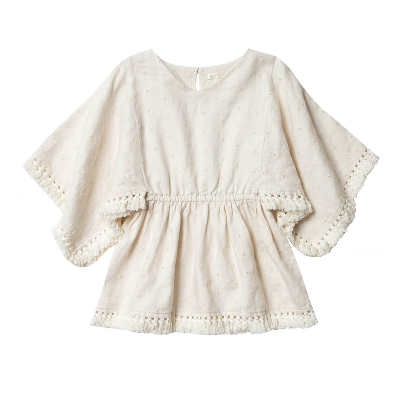 Rylee and Cru Eyelet Beach Kaftan | Tiny People