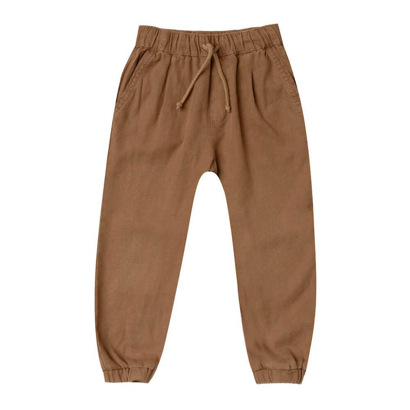 Rylee & Cru Beau Pant Caramel Baby Shorts & Bloomers - Tiny People Cool Kids Clothes