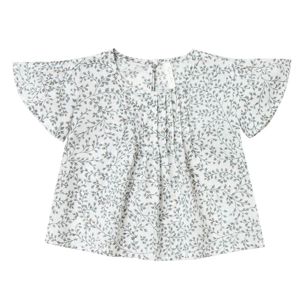 Blaire Blouse Dainty Leaves