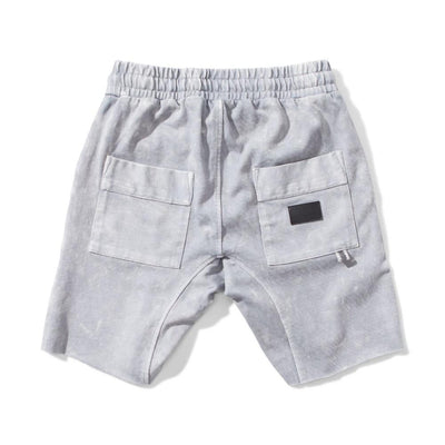 Munster Kids Rugby Bleach Grey Shorts - Tiny People Cool Kids Clothes Byron Bay