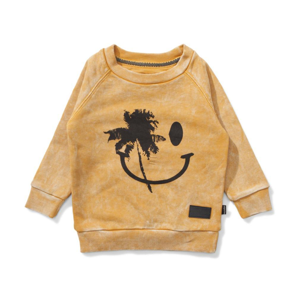 Board Grin Jumper Washed Mustard