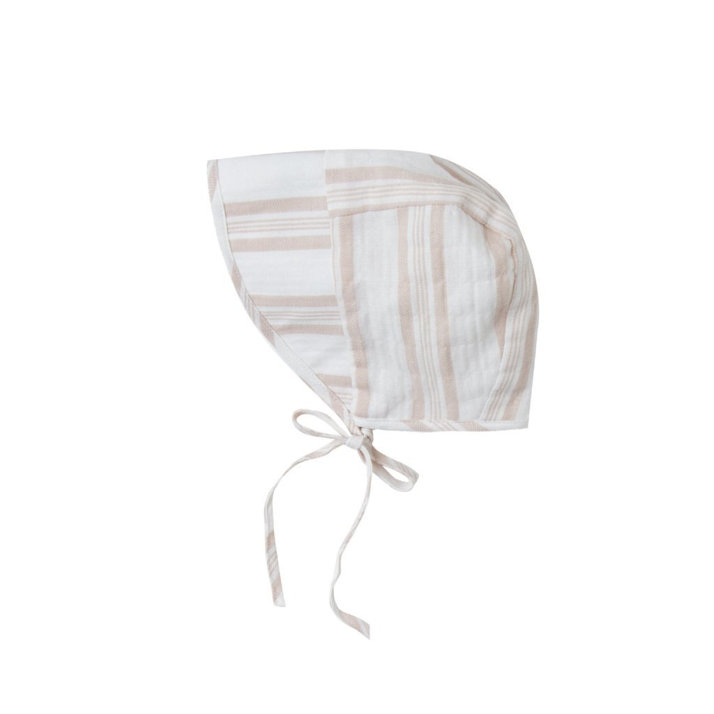 Sand Stripe Bonnet Coconut