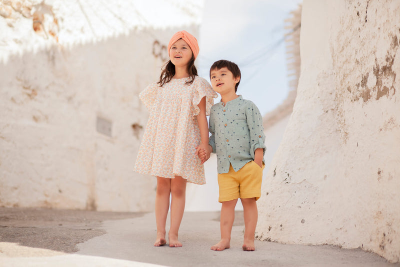 Louise Misha Amod Shirt Cloud Palms | Tiny People