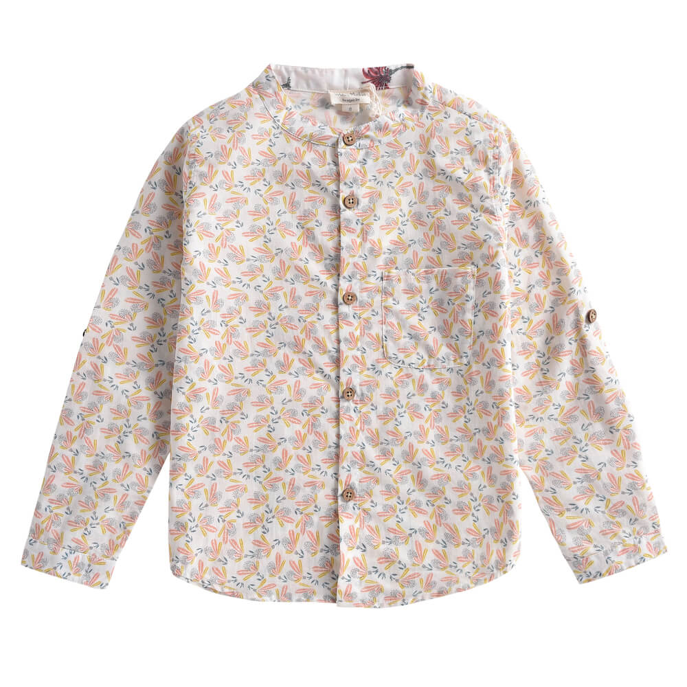 Louise Misha Amod Shirt Cream Petals | Tiny People