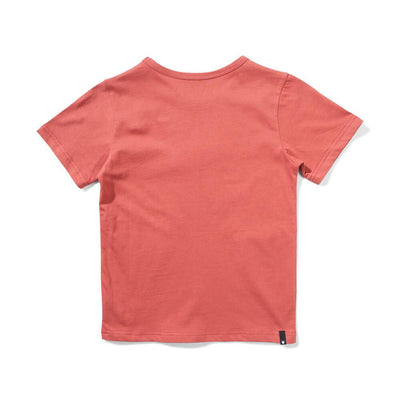 Munster Kids Branded T-Shirt Rust Red Boys Tops & Tees - Tiny People Cool Kids Clothes