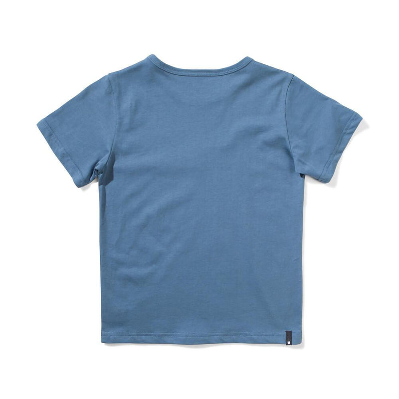 Munster Kids Branded T-Shirt Blue Boys Tops & Tees - Tiny People Cool Kids Clothes