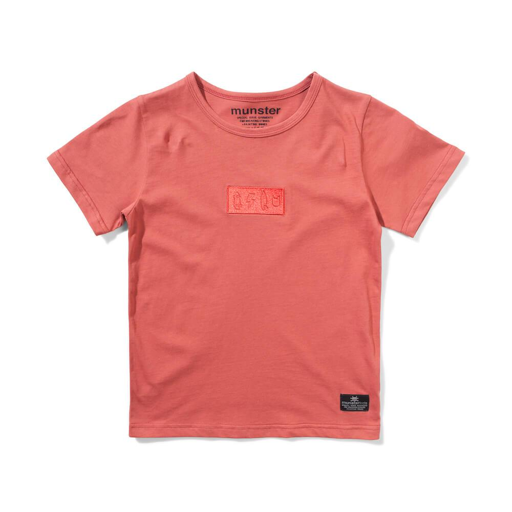 Branded T-Shirt Rust Red