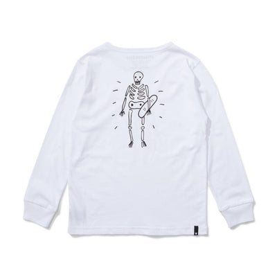 Brat Pack Long Sleeve Tee White