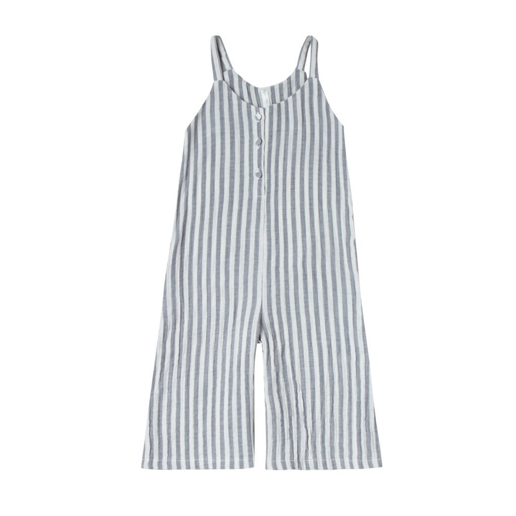 Bridgette Jumpsuit Storm Stripe