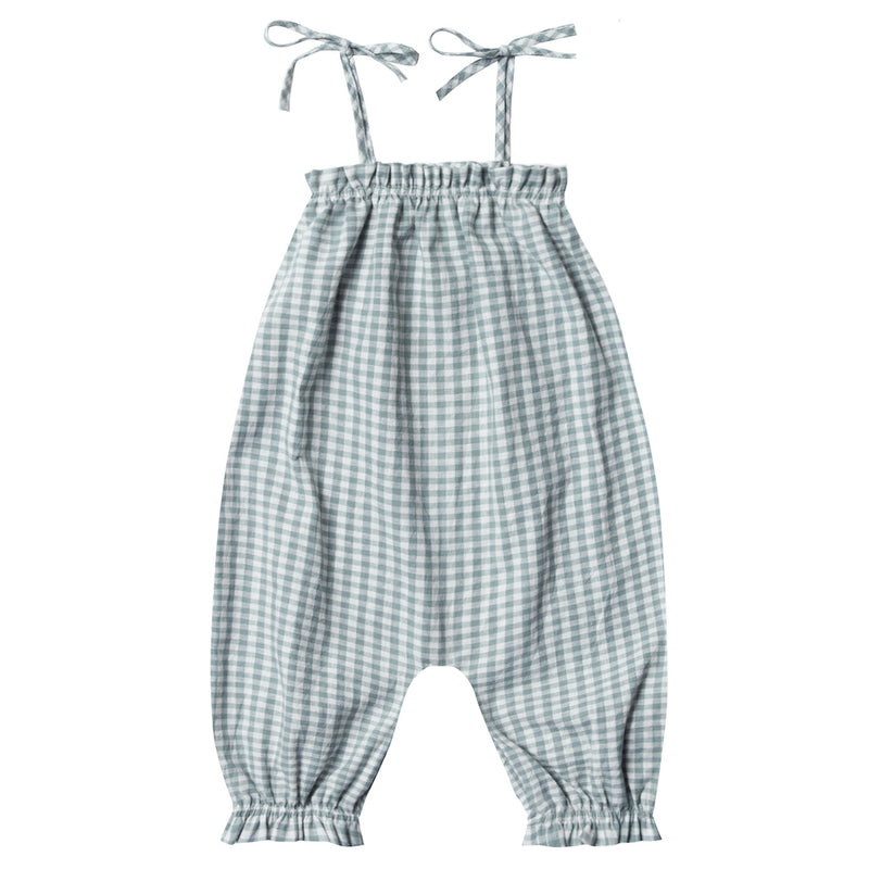 Rylee and Cru Gingham Bubble Jumpsuit | Tiny People