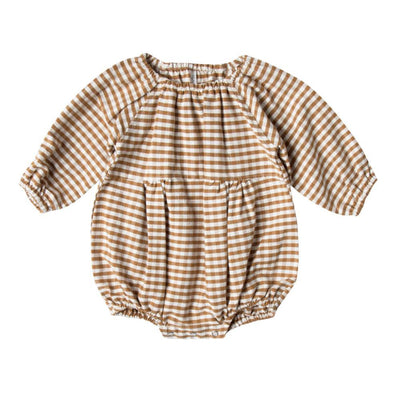 Rylee & Cru Bubble Romper Gingham - Tiny People Cool Kids Clothes Byron Bay