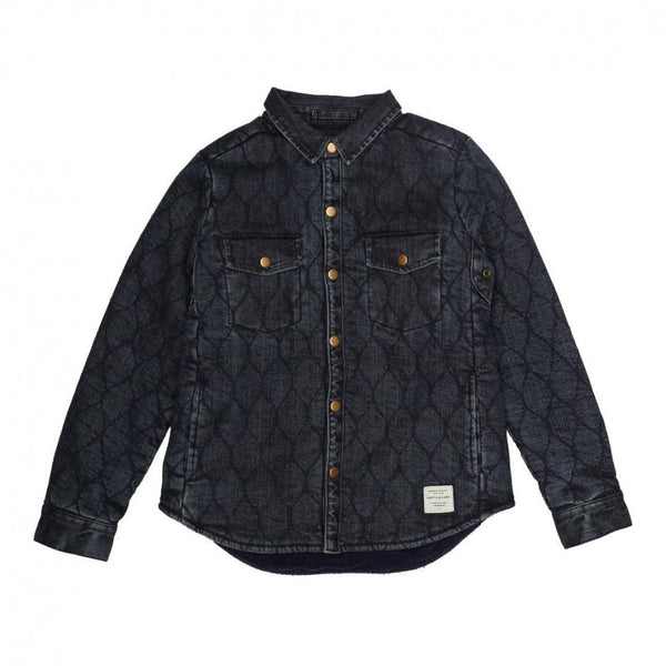 Soft Gallery Vilads Jacket Dark Blue Denim - Tiny People Cool Kids Clothes Byron Bay
