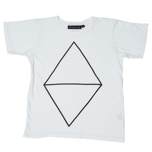 Zuttion Diamond Tee - Tiny People Cool Kids Clothes