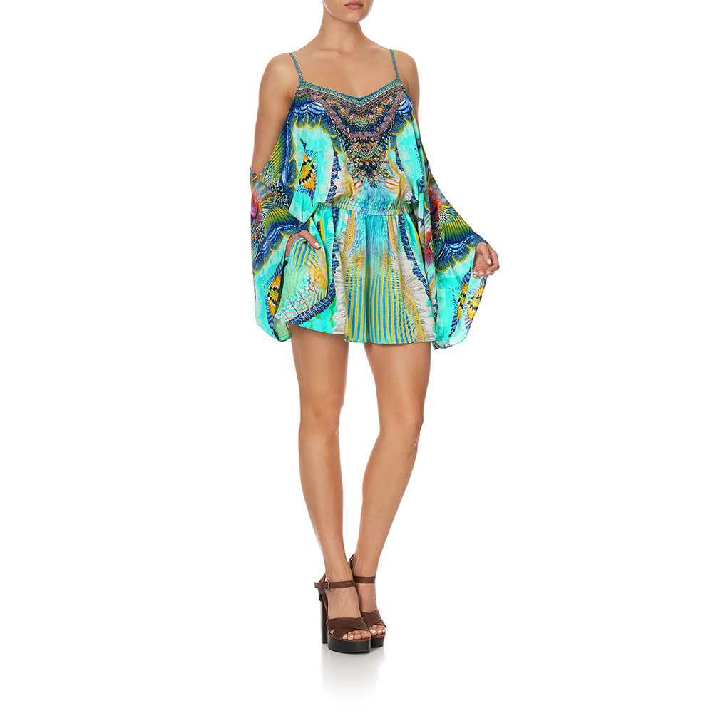 Camilla Reef Warrior Drop Shoulder Playsuit | Tiny People