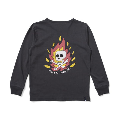 Cape Fear Long Sleeve Tee Soft Black