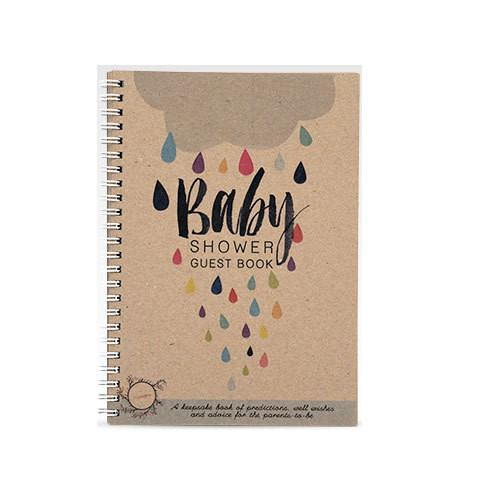 Rhi Creative Baby Shower Guest Book - Tiny People shop