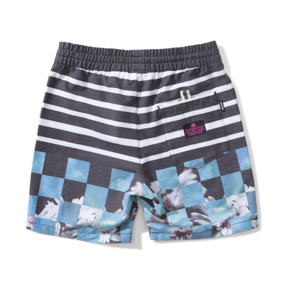 Cool boys Munster Check Me Out board short.