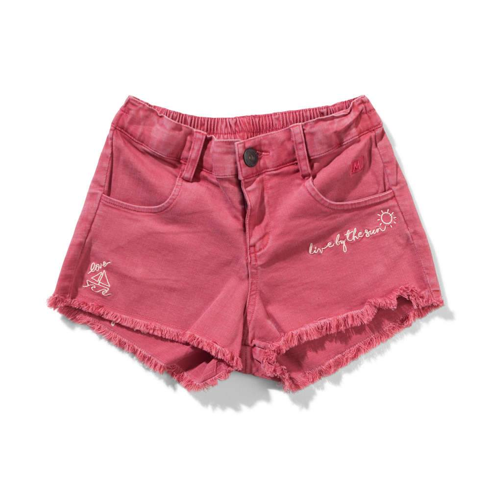 Circa Shorts Washed Red