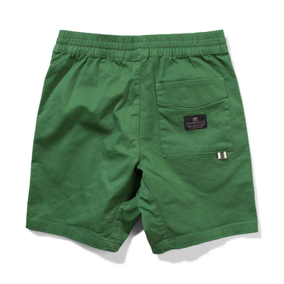 Munster Kids Commune Shorts Green Shorts - Tiny People Cool Kids Clothes