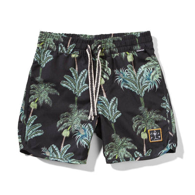 Munster Kids Cracker Board Shorts Black Shorts - Tiny People Cool Kids Clothes