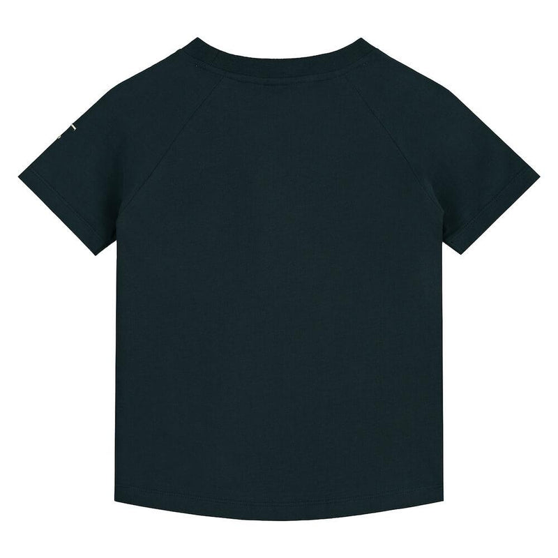 Gray Label Crewneck Tee (Nearly Black) | Tiny People