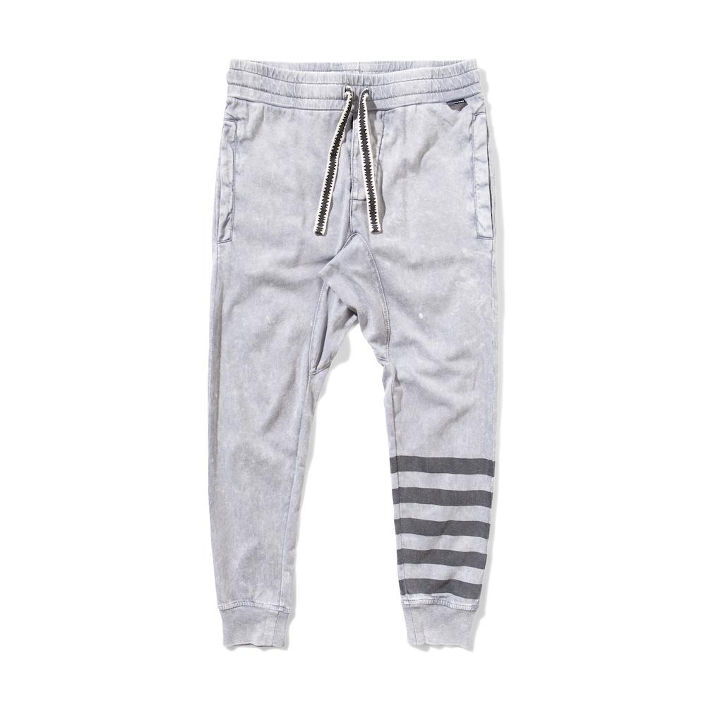 Munster Kids Crystal Pants Washed Grey Pants & Leggings - Tiny People Cool Kids Clothes