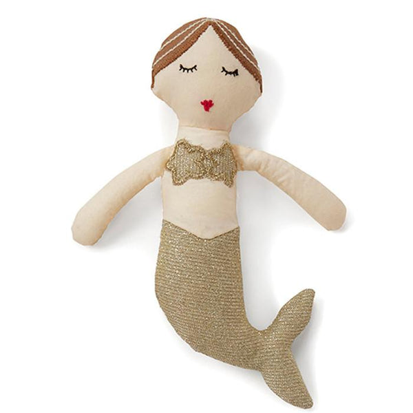 Mermaid Rattle Gold