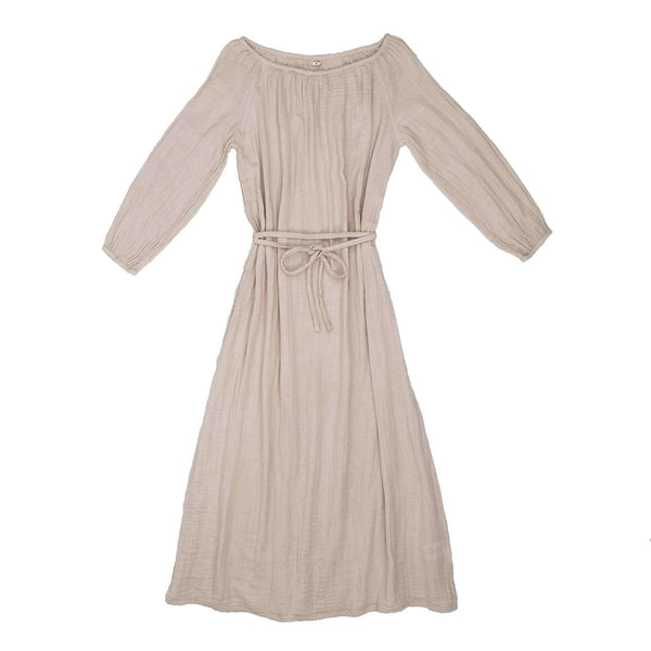 Numero 74 Nina Dress Long Women's Powder - Tiny People Cool Kids Clothes Byron Bay