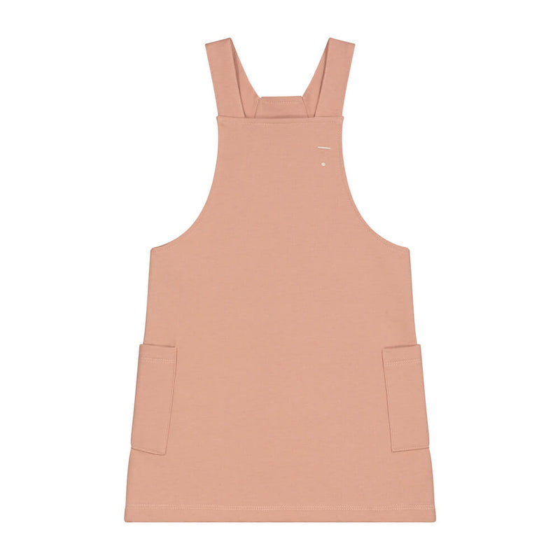 Gray Label Dungaree Dress (Rustic Clay) | Tiny People