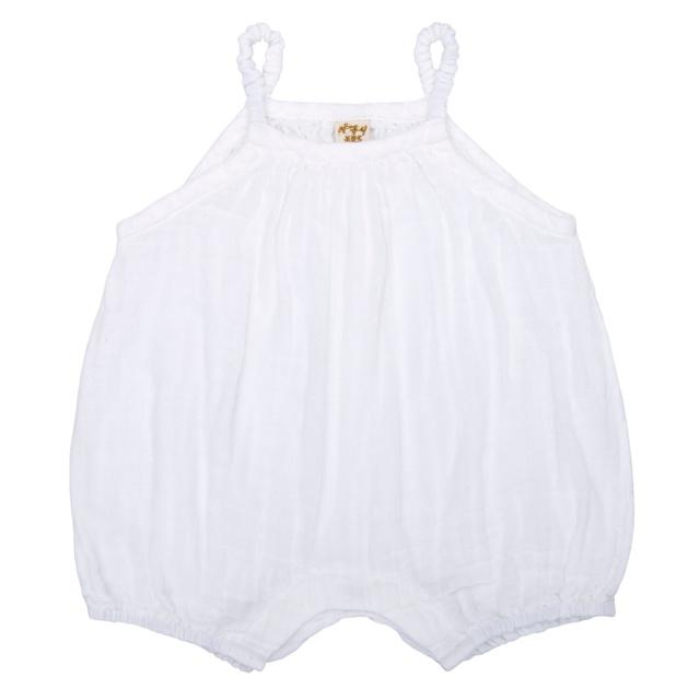 Numero 74 Lolita Baby Romper White Onesies & Rompers - Tiny People Cool Kids Clothes