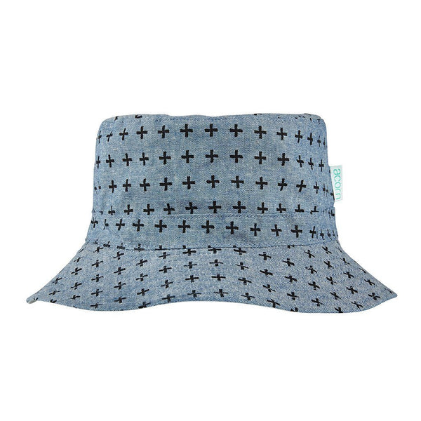 Acorn Kids Stargaze Reversible Bucket Hat - Tiny People Cool Kids Clothes