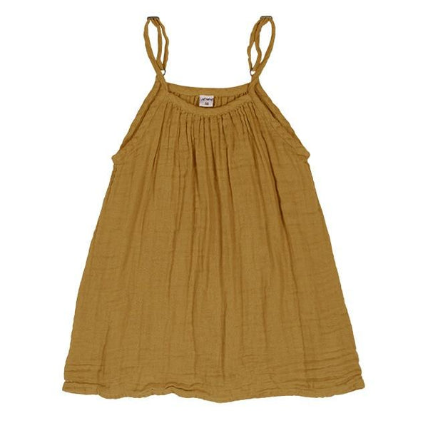 Numero 74 Mia Dress Gold - Tiny People Byron Bay