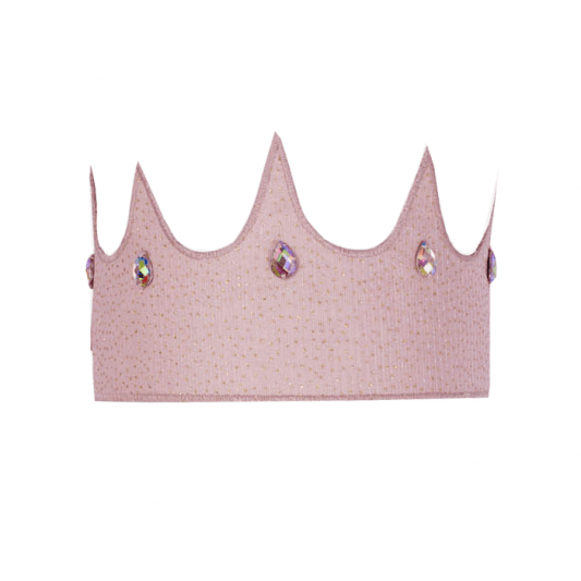 Luna Crown Dusty Pink