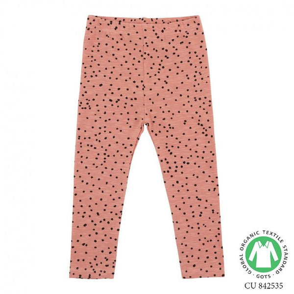 Soft Gallery Baby Paula Leggings Rose Dawn Dotties - Tiny People Cool Kids Clothes