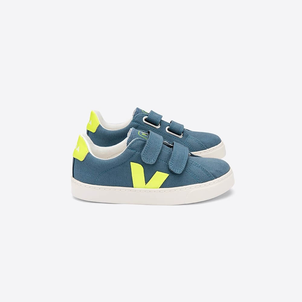 Veja Esplar Canvas California Jaune Fluo | Tiny People