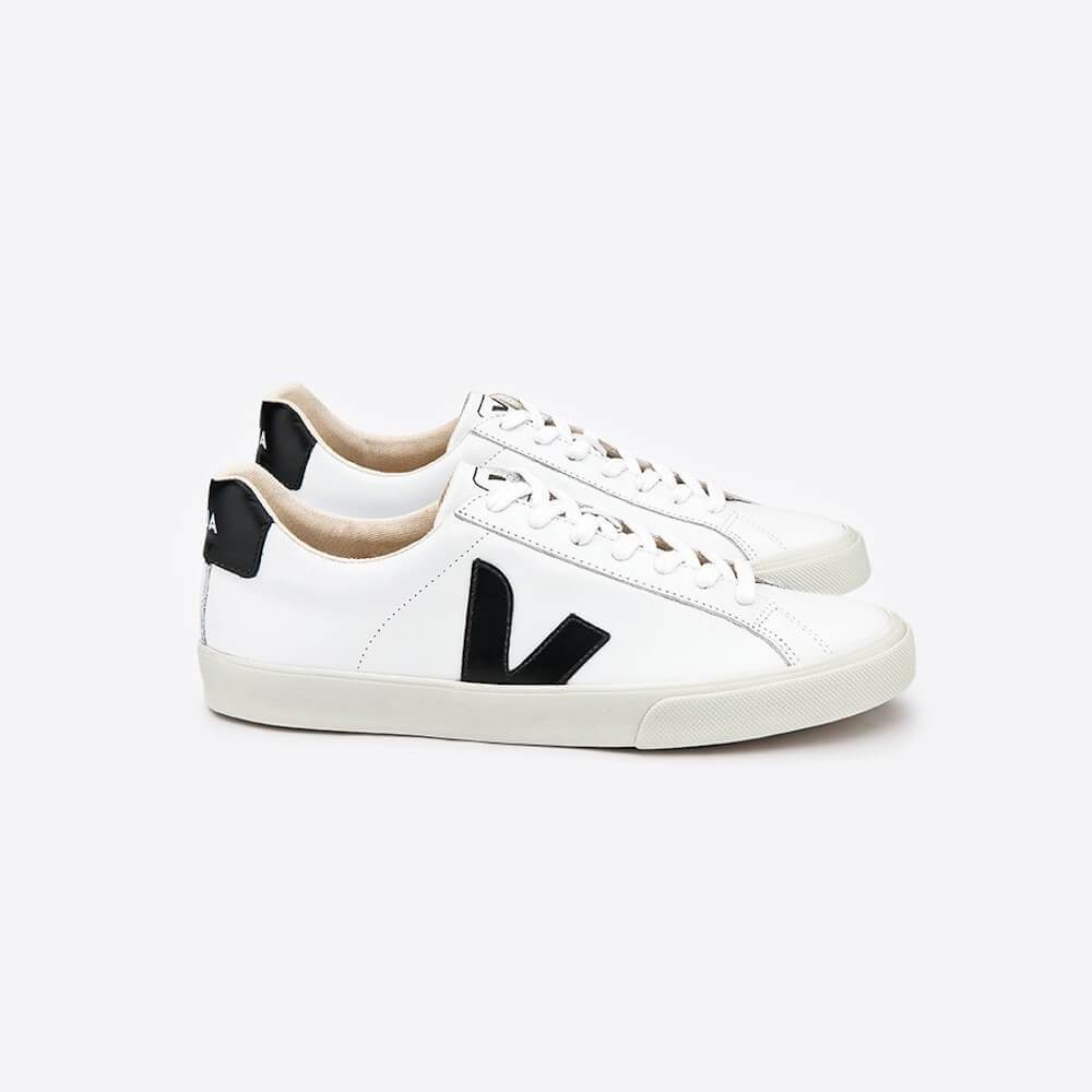 Veja Esplar Leather White Black (Womens) | Tiny People