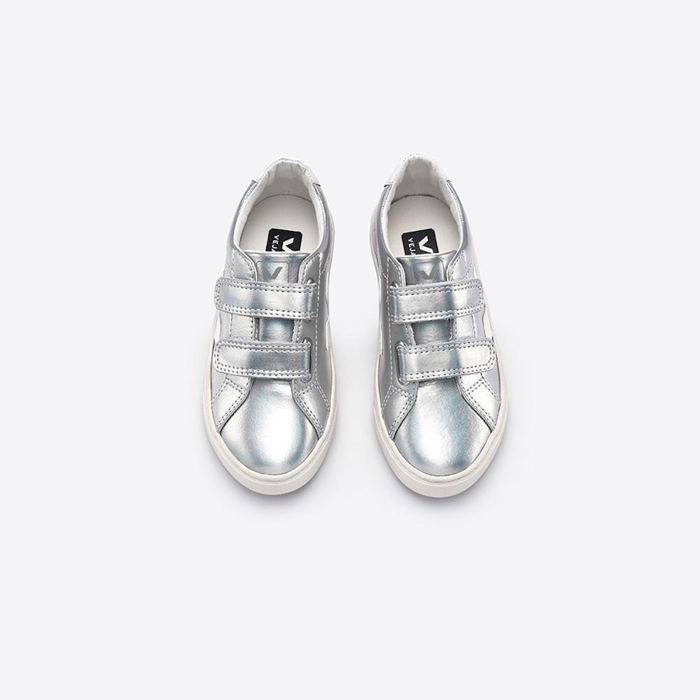 Esplar Unicorn White Velcro Sneakers