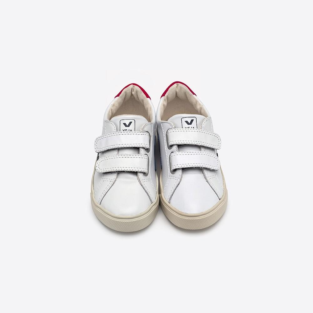 Esplar Leather Extra White Nautico Pekin | Tiny People