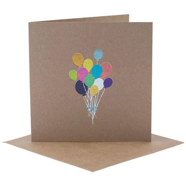 Rhi Creative Bunch of Balloons Card - Tiny People shop