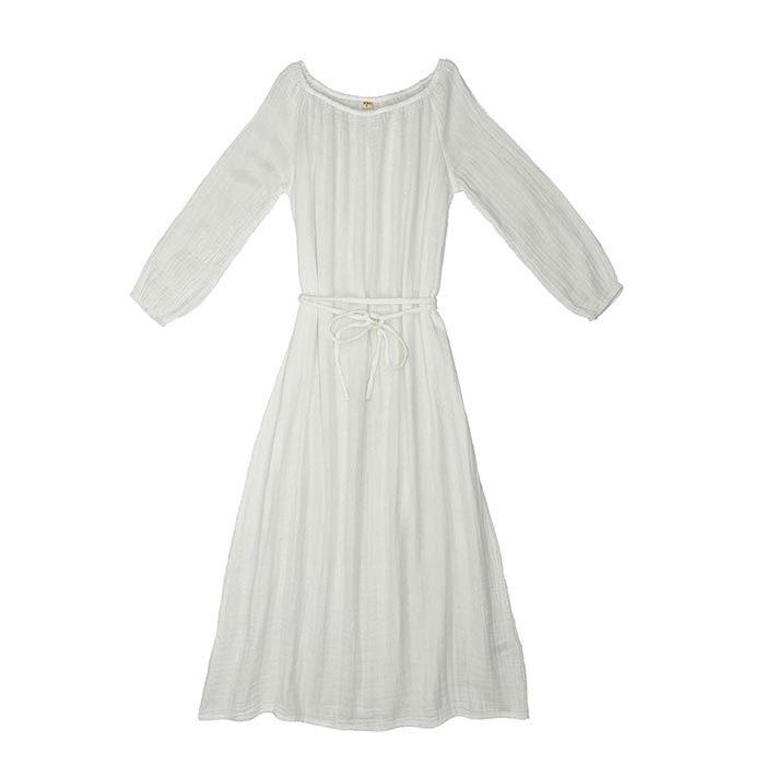 Nina Dress Long Women's White