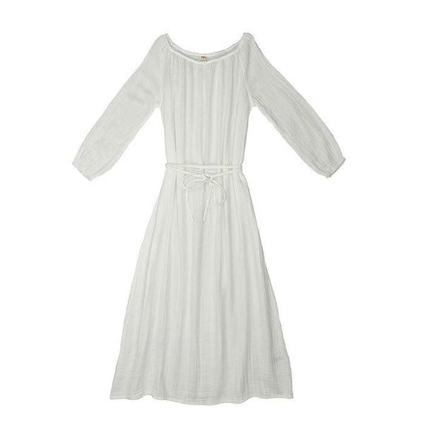 Numero 74 Nina Dress Long Women's White - Tiny People Cool Kids Clothes Byron Bay
