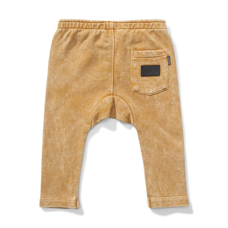 Fave Pant Washed Mustard