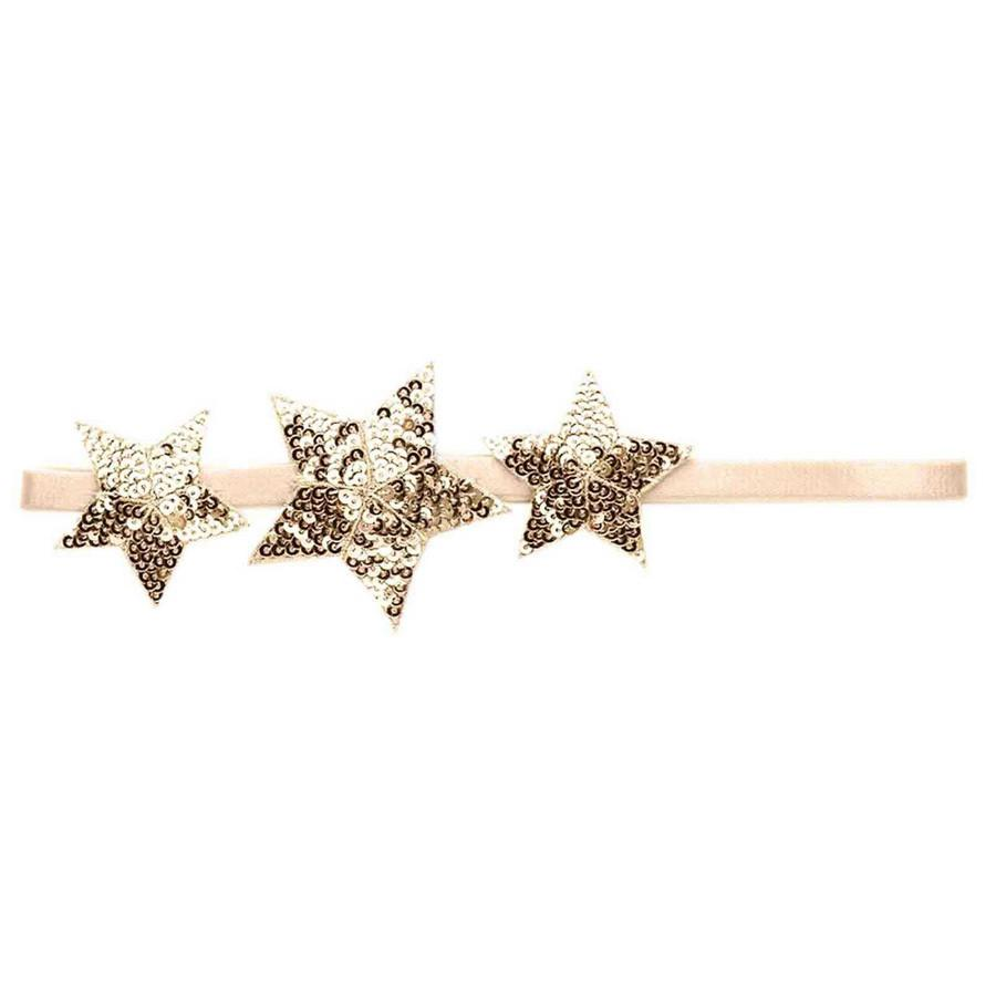 Shooting Star Headband Gold