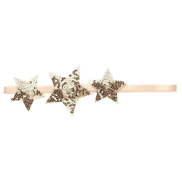Tutu Du Monde Shooting Star Headband Gold - Tiny People shop