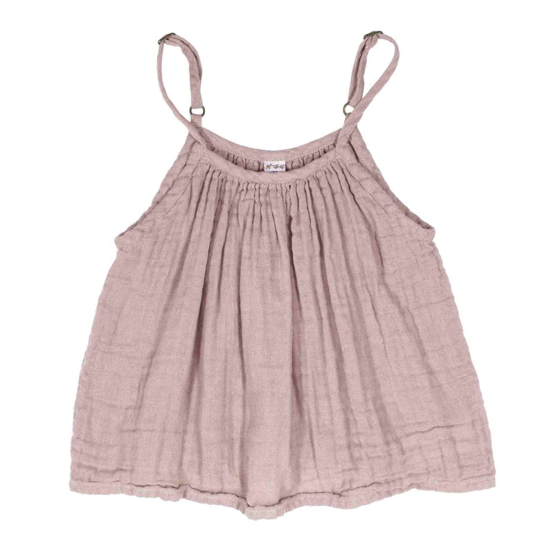 Numero 74 Mia Top Dusty Pink - Tiny People Cool Kids Clothes Byron Bay
